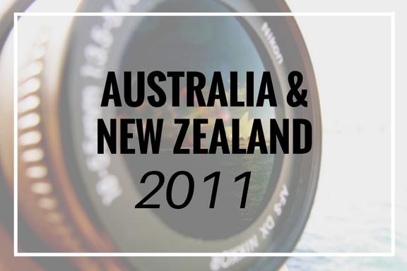 Australia and New Zealand 2011