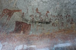 Cave drawings in Matobo National Park
