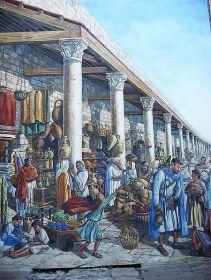 ancient Roman cardo